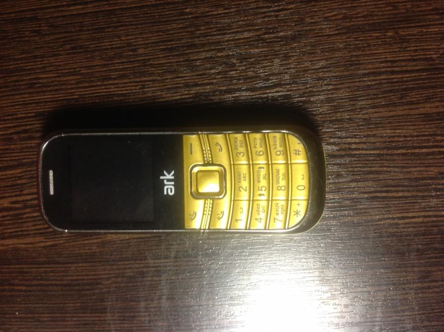 Сотовый телефон Ark Phantom White